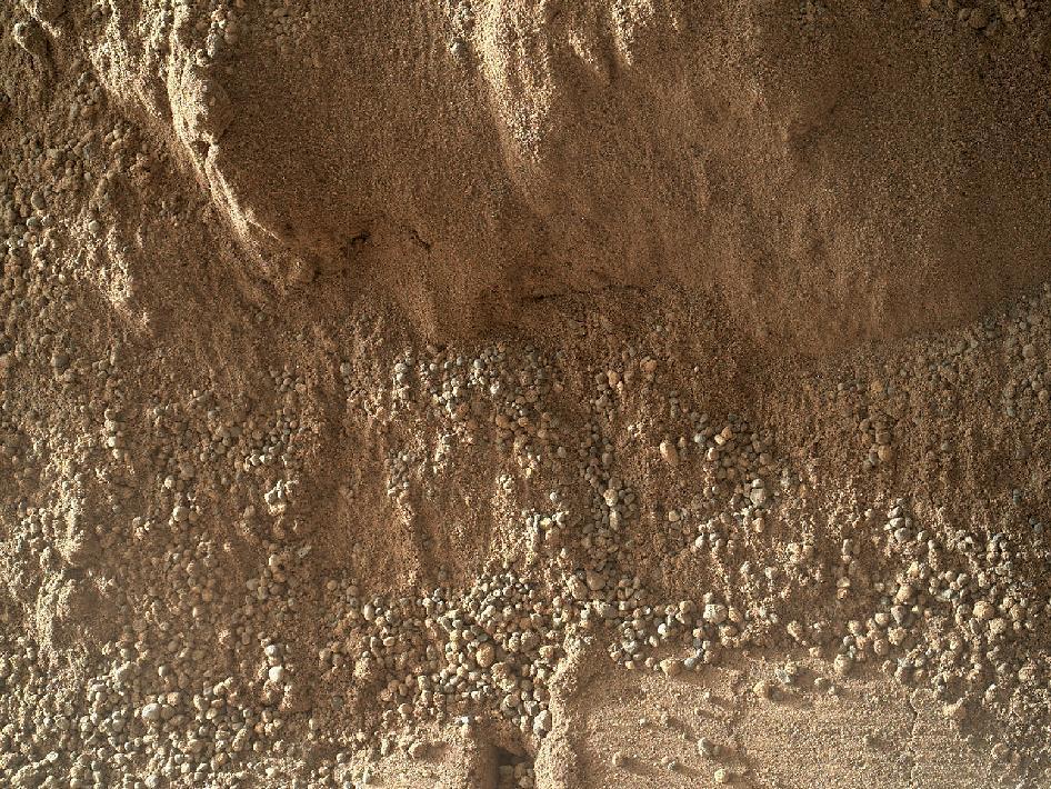 mars tepecikleri