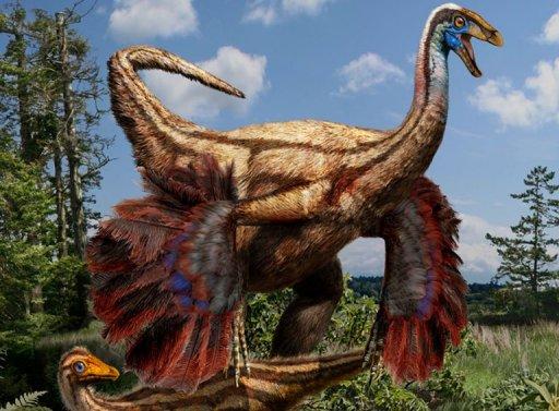 tüylü dinozor