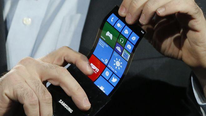 Esnek OLED Samsung Win 8