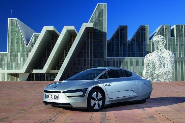 dünyanın en tasarrruflu arabası Volkswagen XL1