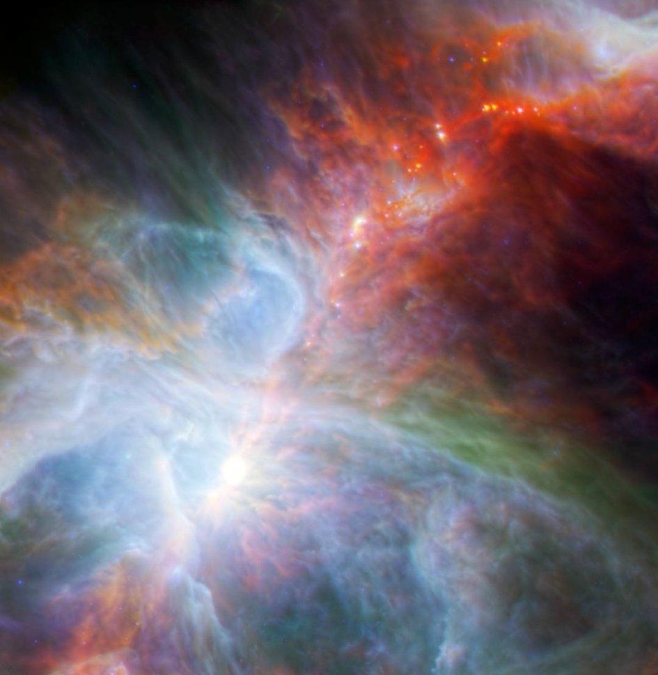 Orion Nebulası' ndaki En Genç Yıldızlar