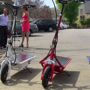 solar-electric-scooter
