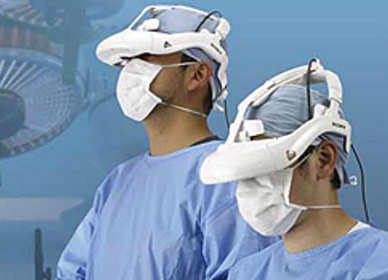 sony 3d vizör başlık laparoskopi
