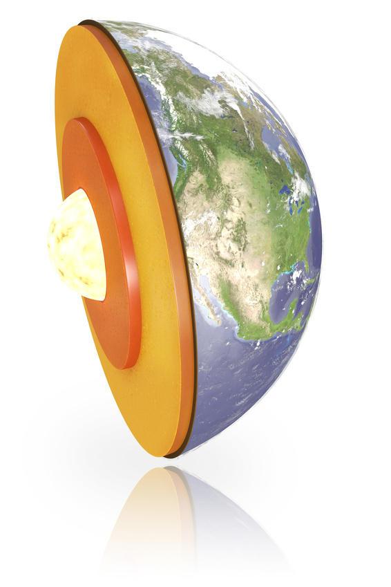 Dünyanın iç çekirdeği doğuya , dış çekirdeği batıya dönerek jeomanyetik alanı oluşturur.