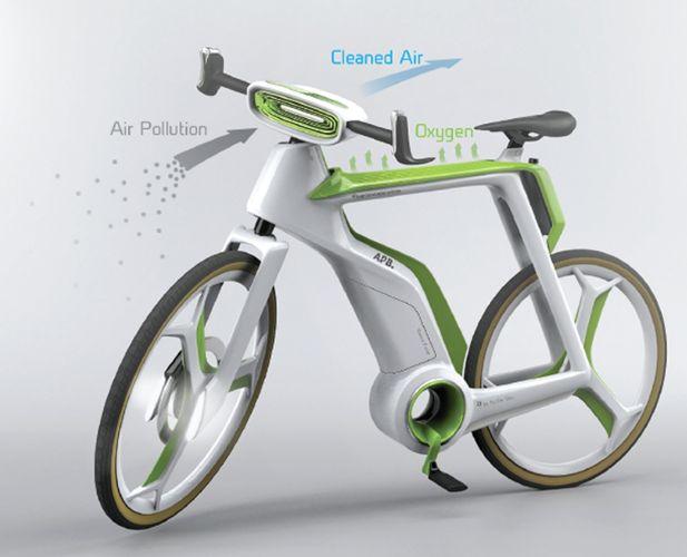 hava temizleyen bisiklet