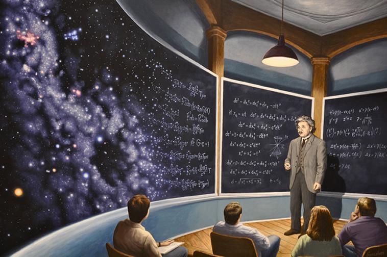 einstein unutulan teori