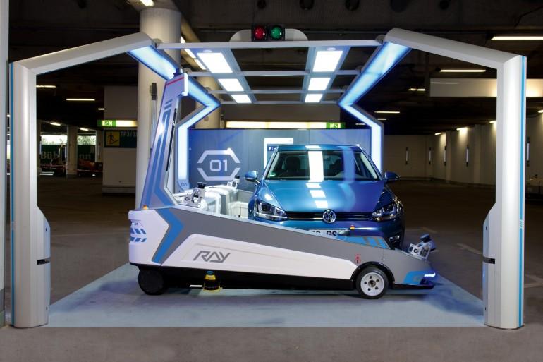 robot ray düsseldorf