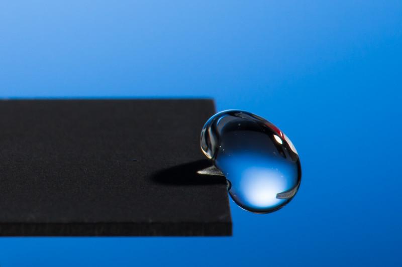 lazer hidrofobik