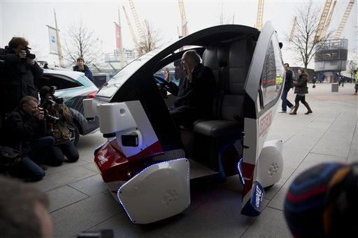 Britain Driverless Cars