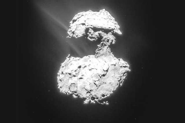 Rosetta Kuyruklu Yıldızda En Çok Aranılan Moleküle Ulaştı