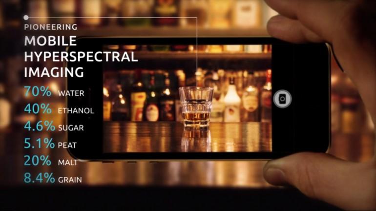 Yeni Akıllı Telefon Kamerası Kimyasal İçeriği Gösterebilir