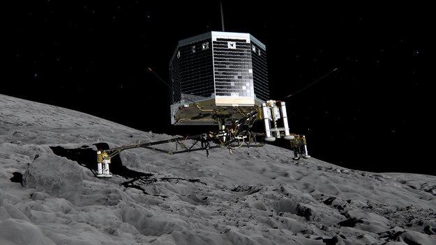 Rosetta Sondası Philea Sonunda Uyandırıldı