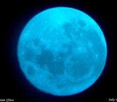 NASA mavi ay
