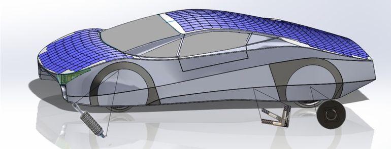 güneş enerjili araba-2
