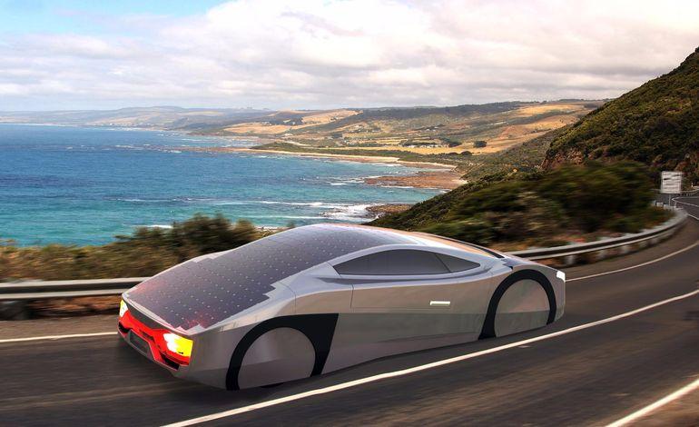 immortus güneş enerjili araba