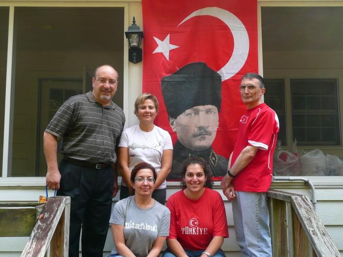 türk aziz sancar bayrak atatürk
