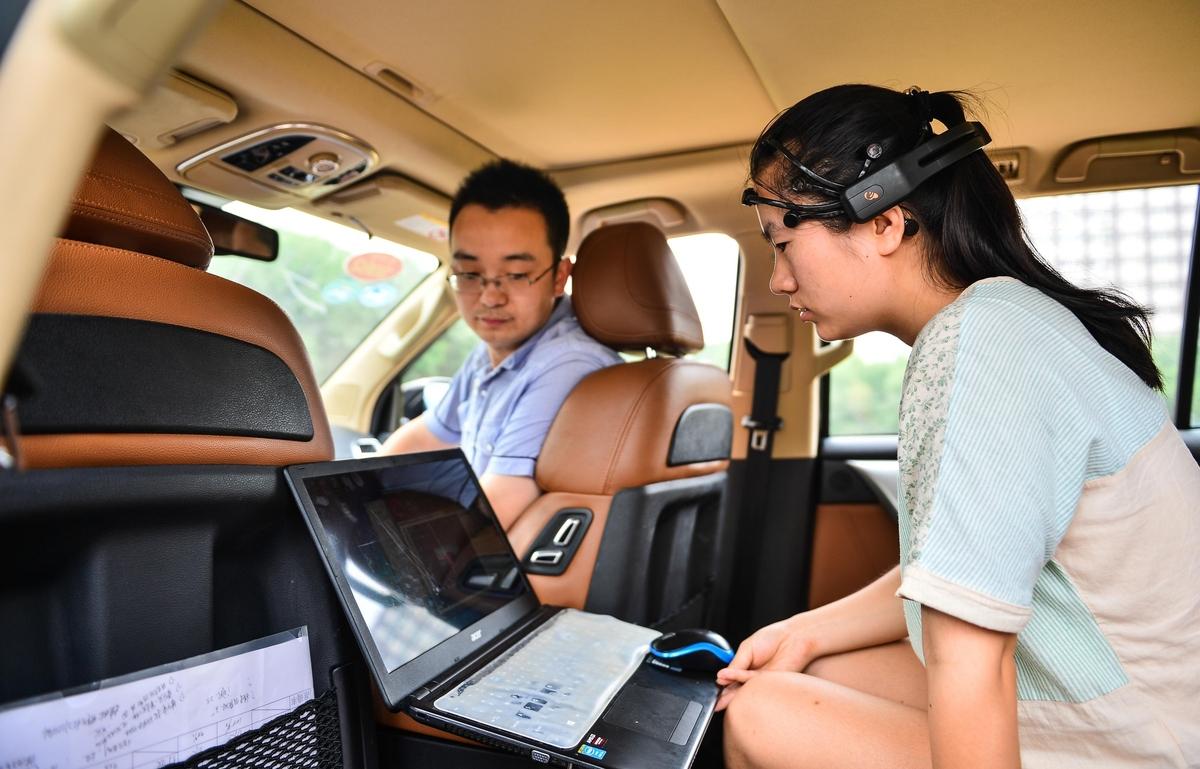Çinliler Zihin Kontrolüyle İlerleyen Araç Yaptı