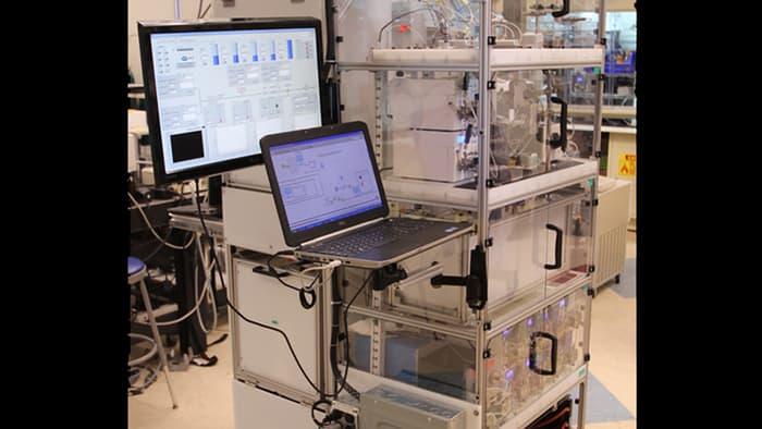 Hastaneler İçin İlaç Üreten Kompakt Sistem Yapıldı