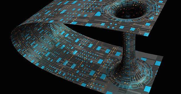 Süpermasif Karadelikler Karanlık Madde İle Solucan Deliğine Dönüşebilir