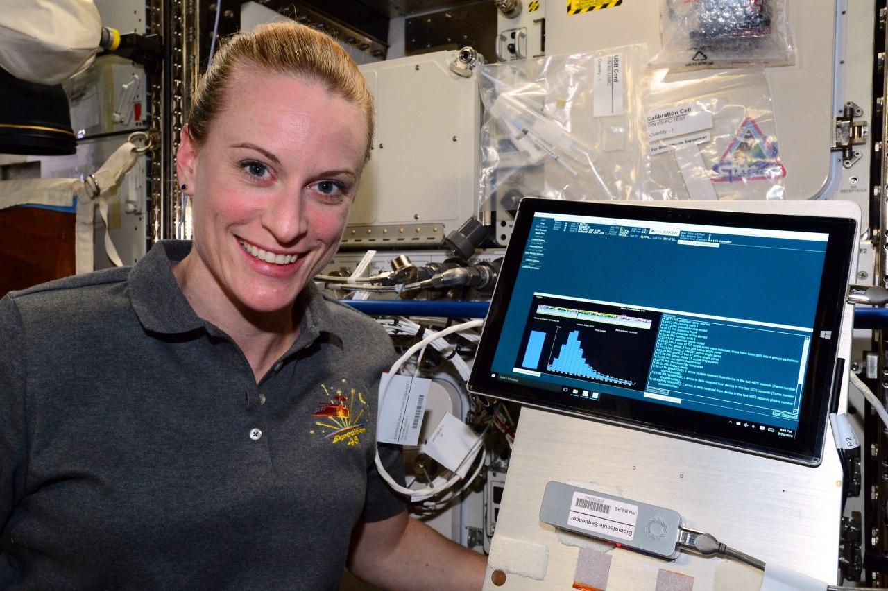 Uzay İstasyonunda İlk Kez DNA Analizi Yapıldı
