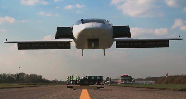 VTOL Hava Taksisi İlk Başarılı Uçuşunu Gerçekleştirdi-Video