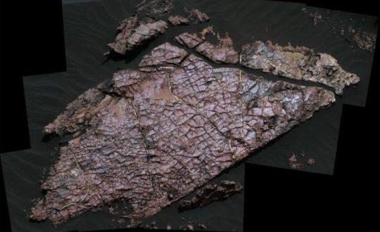 Kuruma Çatlakları Mars'taki Suyun Geçmişine Işık Tutuyor