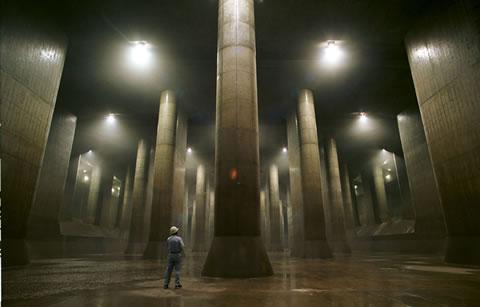 Tokyo Sel Engelleme Tünelleri