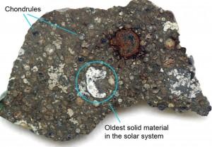 Zamanında Sahra Çölü' ne düşen NWA 3118 meteoru nadir bulunan karbonlu kondrit türünden. Bu göktaşları güneş sisteminin ilk zamanlarından kalma olduğundan oldukça değerli.