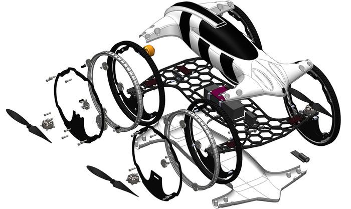 quadkopter arazi aracı planı-gerçek bilim