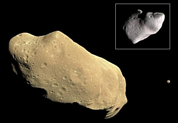 ida asteroiti ve ayı
