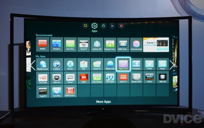 Samsung_KN55S9 kavisli oled televizyon samsung panel