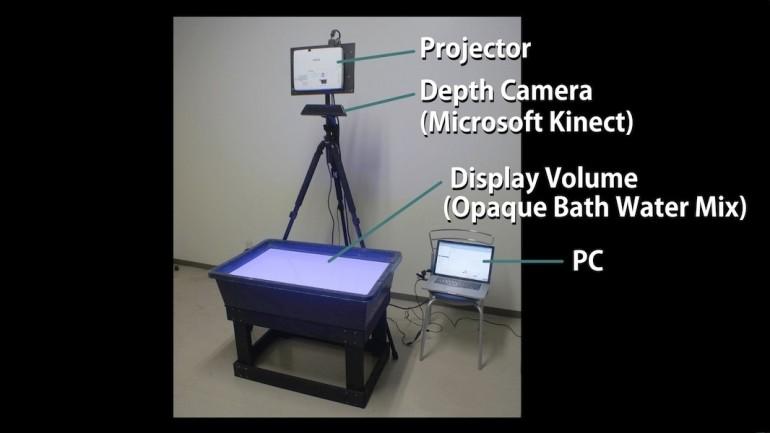 aquatop su üstü ekran-gerçek bilim