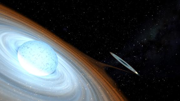 mwc656-kara delik be yıldız ikilisi-gerçek bilim