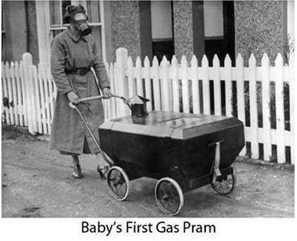 bebek gaz koruyucu araba