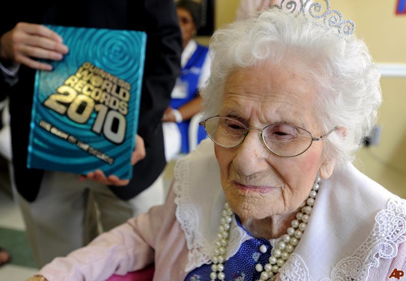 dünyanın en uzun yaşayan kadını