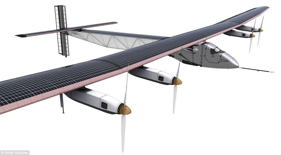 güneş uçağı-2