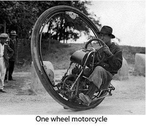 tek tekerlekli motor