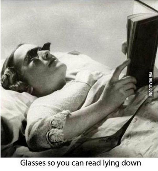 yatarken okuma gözlüğü