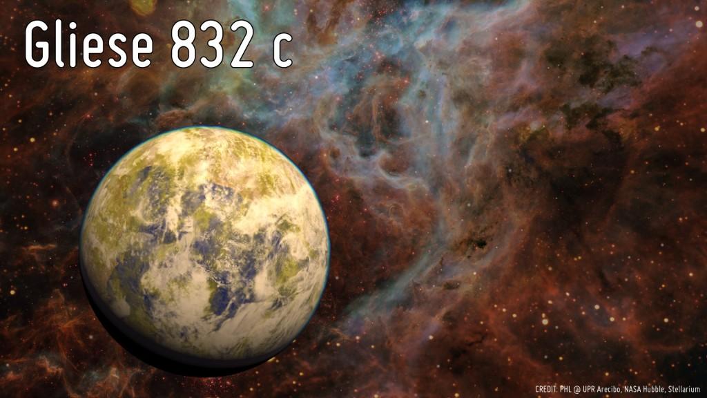 gliese 832 c-gerçek bilim yeni gezegen