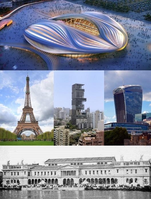 en tartışmalı 9 mimari