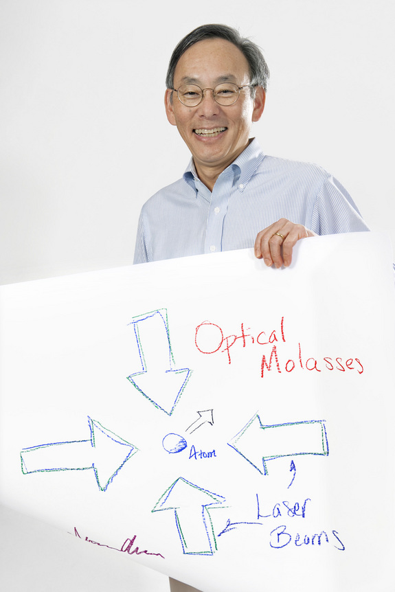 Steven Chu, physics, 1997