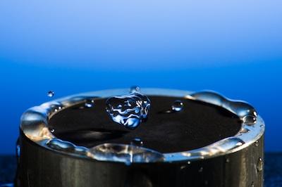 metalden su kayması