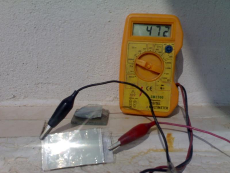 güneş pili prototip
