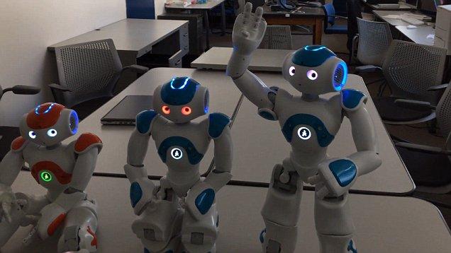 robotlar bilinç kazandı