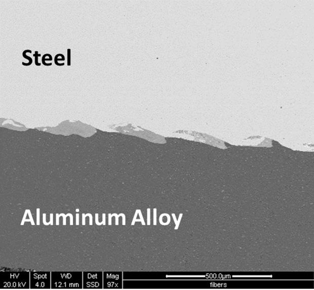 alüminyum çelik VFA kaynağı