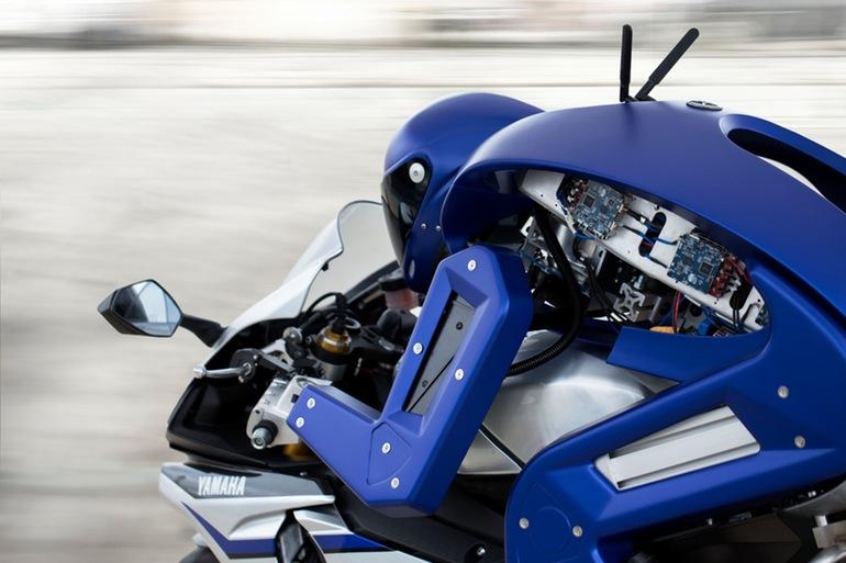 yamaha robot sürücü