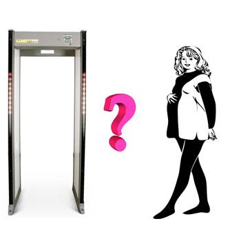 pregnant-metal-detector