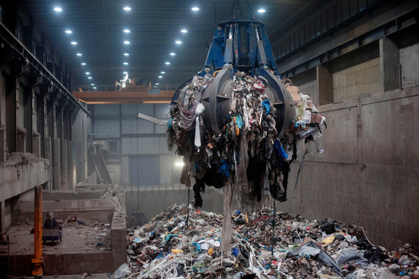 çöpten elektrik