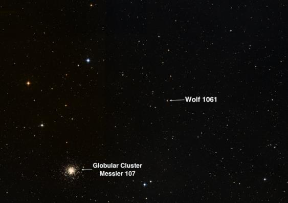 14 ışık yılı yaşanabilir gezegen