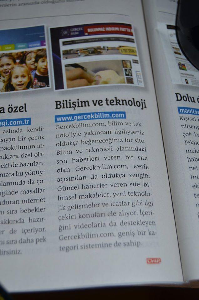 gerçekbilim-chip dergisi